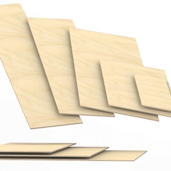 6 mm Sperrholzplatten aus Birke Zuschnitt auf Maß