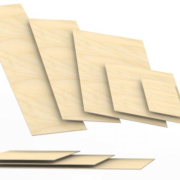 3 mm Sperrholzplatten aus Birke Zuschnitt auf Maß