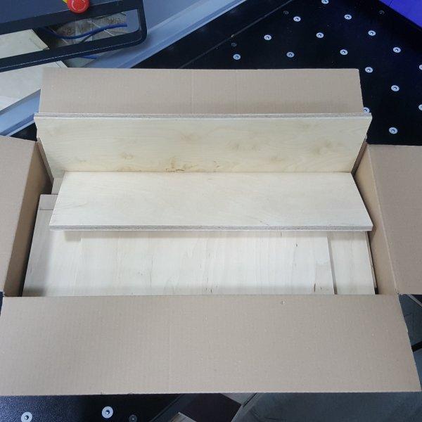 Reste gemischt Multiplexplatten in den Stärken 6 -15mm Holz Zuschnitt für Bastler