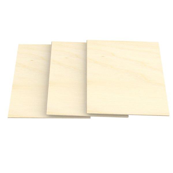 6mm Sperrholz-Platten im Format DIN A5 bis DIN A1