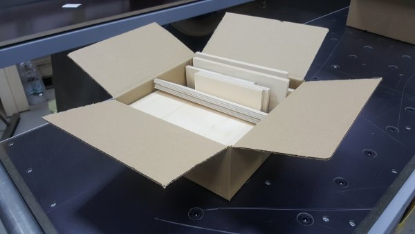 AUPROTEC Reste Brettchen Größe S (25x25x10cm)