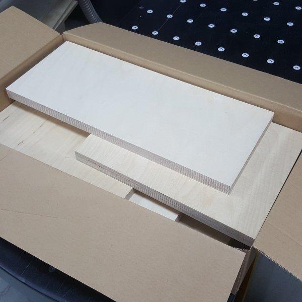 Reste gemischt Multiplexplatten in den Stärken 18 -30mm Holz Zuschnitt für Bastler